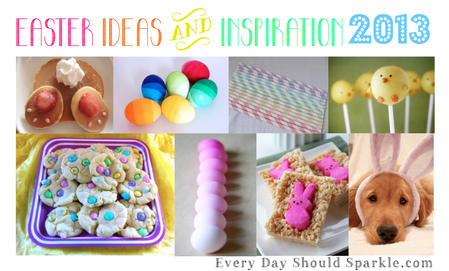 Easter Ideas and Inspiration 2013