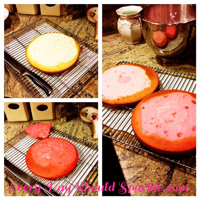 Pink Ombre Cake #3