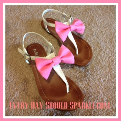 DIY Bow Sandals Image