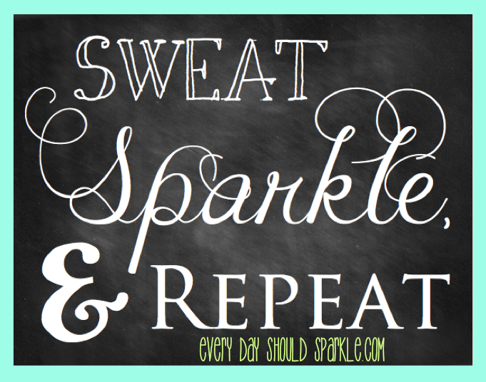 Sweat, Sparkle, Repeat Header