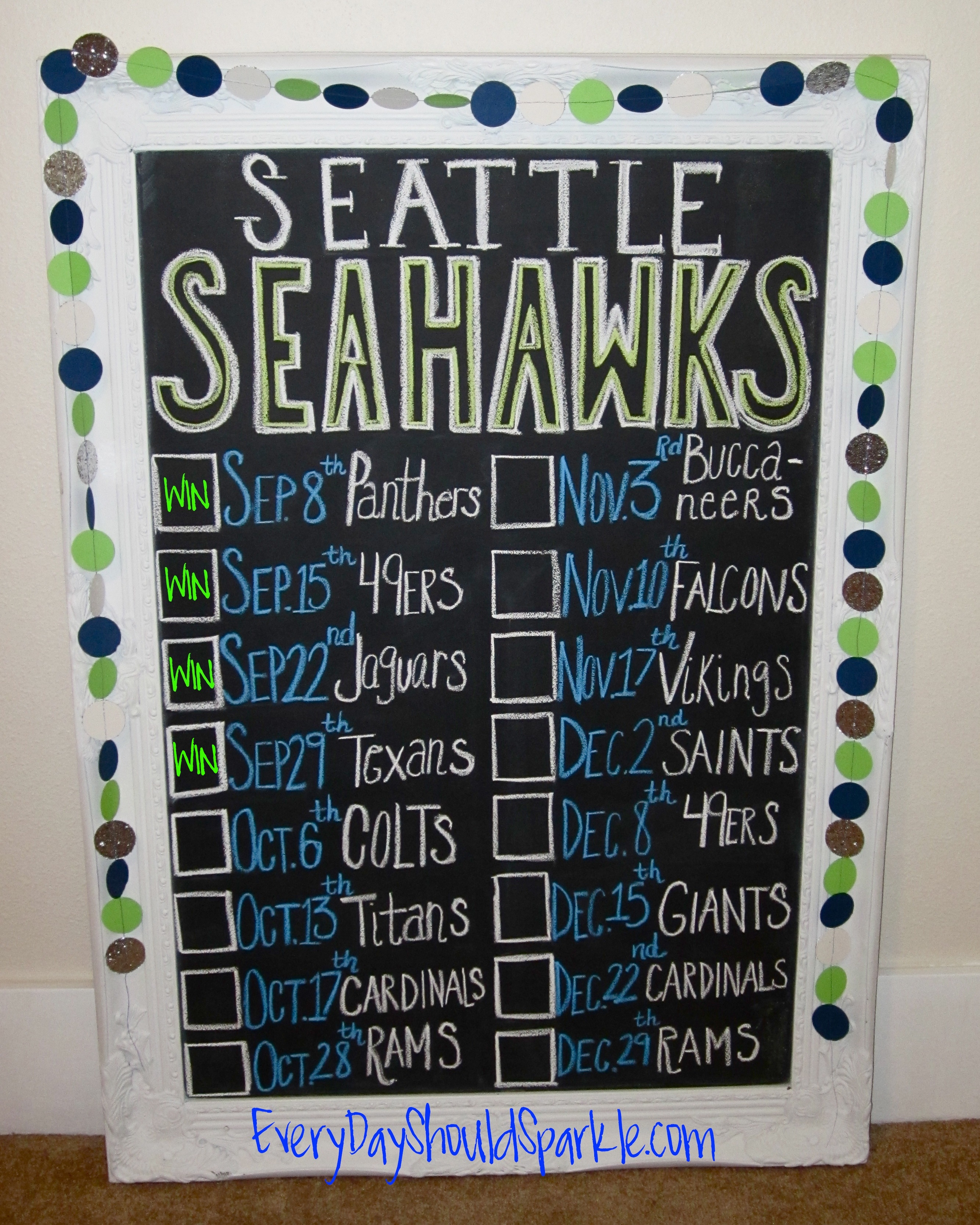 Seahawks Record #2