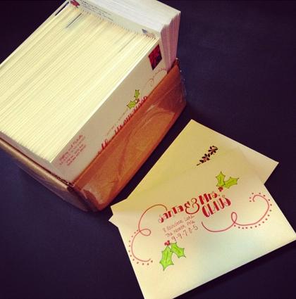 christmas cards #2 2013