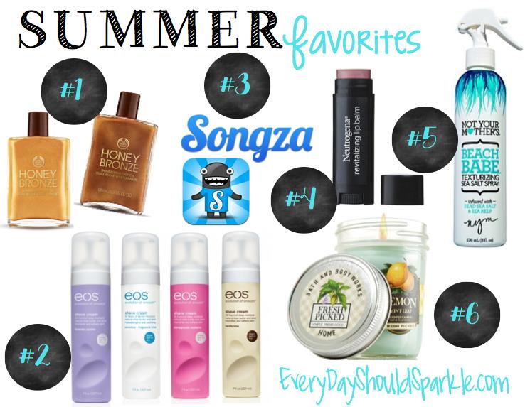 Summer Favorites 2014