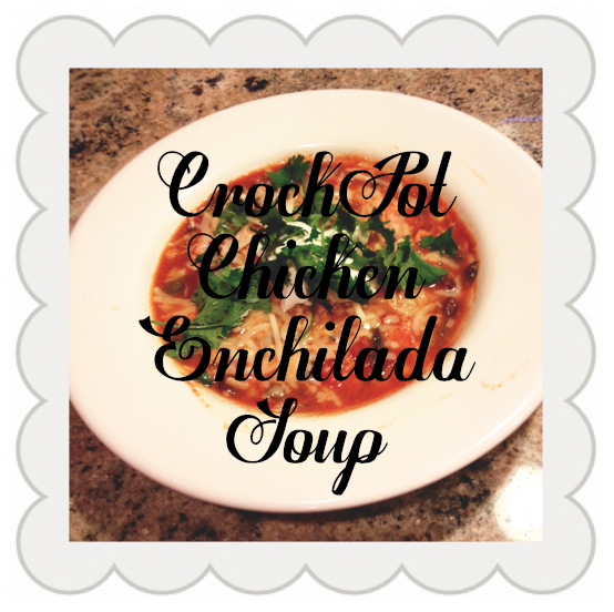 CrockPot Chicken Enchilada #1 Soup