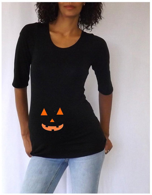 pumpkin maternity top