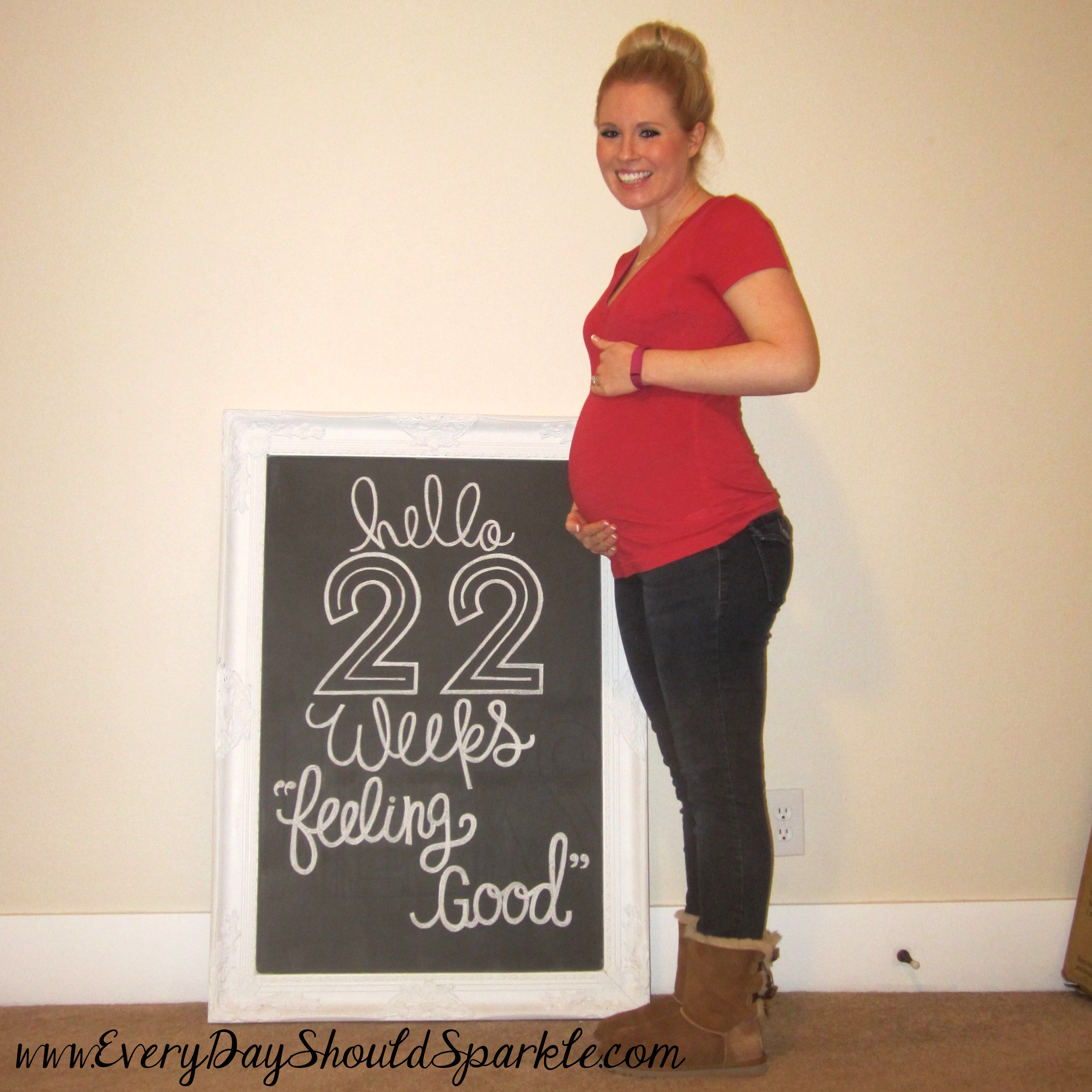 22 weeks pregnant pics some